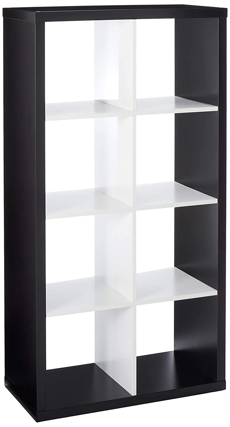 IKEA Kallax Bookcase Shelving Unit Display (Black, White)