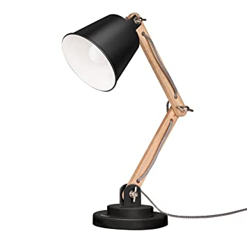 Tomons swing arm desk lamp natural wood table lamp reading lights tomons swing arm desk lamp natural wood table lamp reading lights work lamp aloadofball Images