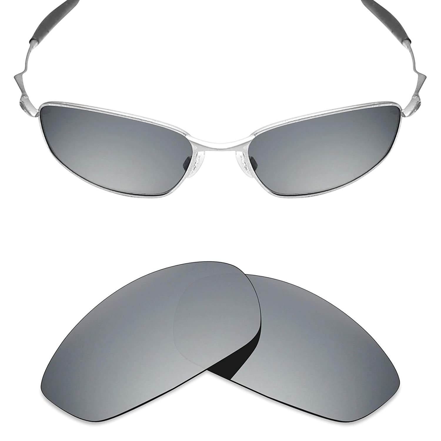 e7e33b3c24 Mryok Replacement Lenses for Oakley Whisker Sunglasses - Rich Options  OY134W2G12D