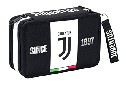 Estuche escolar Juventus Juventus Juve Seven de 3 pisos ...