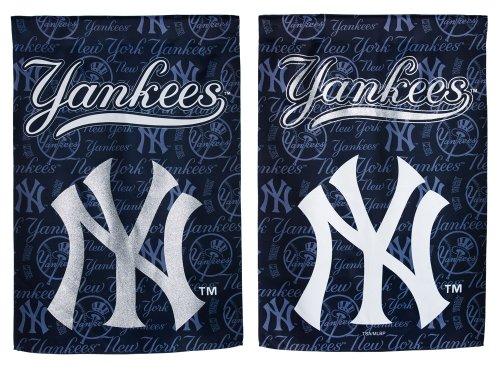 UPC 746851989131, NY Yankees Glitter Logo Garden Flag