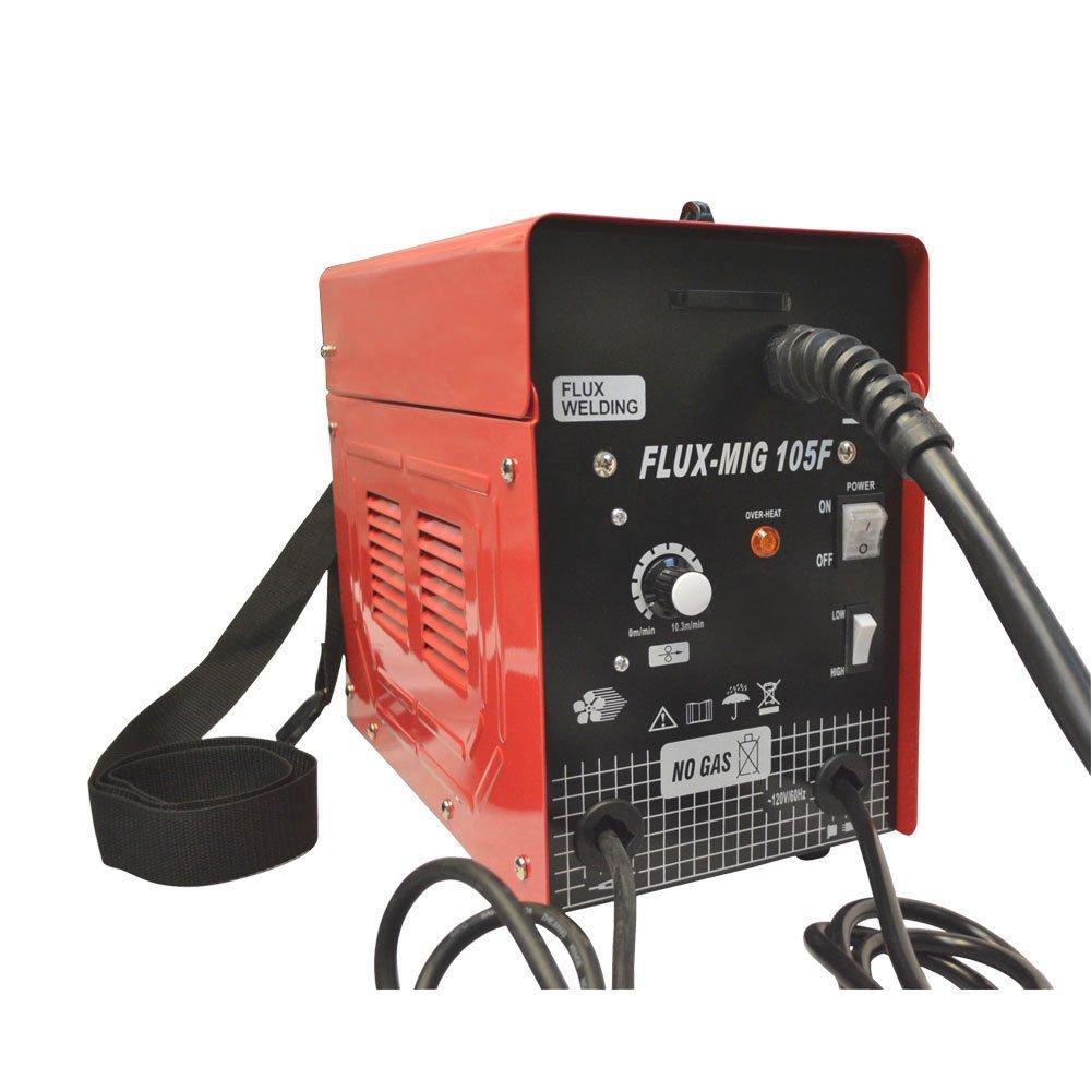 Mig 105 Flux Core Wire Mig Welding Machine 90AMP No Gas Welder ...