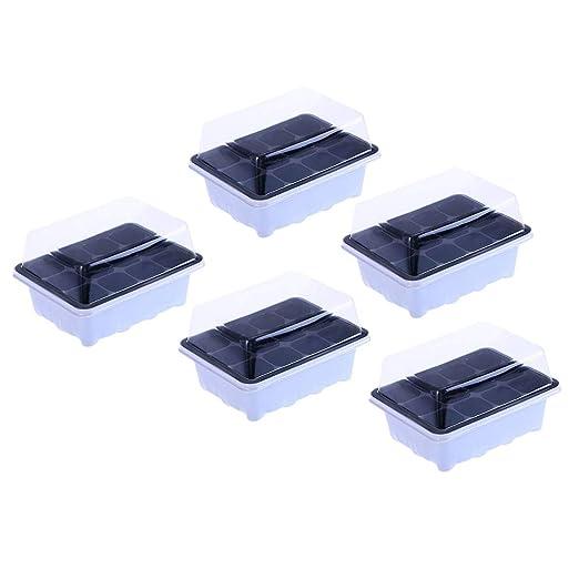 Yardwe 5 Juegos Invernadero pequeño Mini Invernadero 12 ...