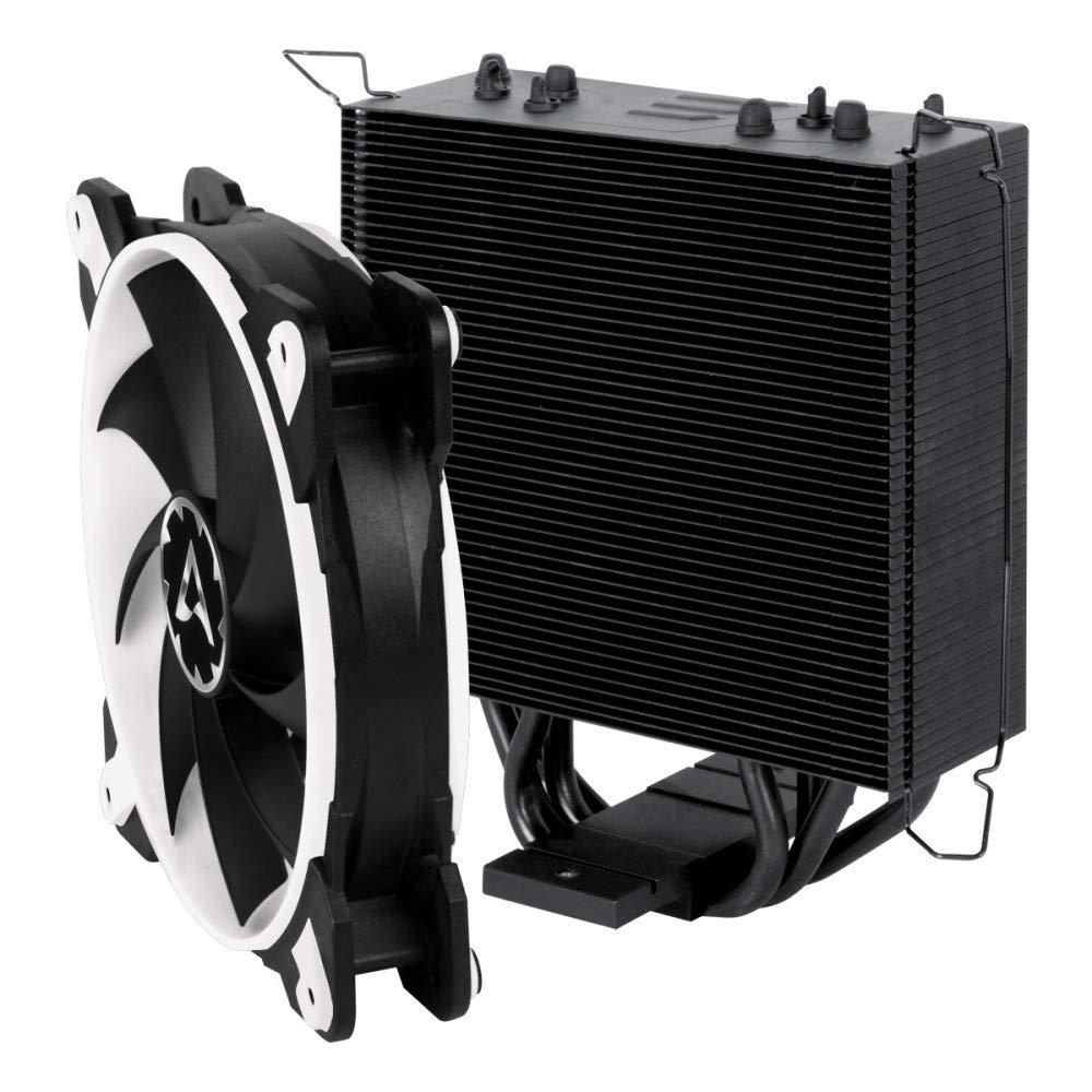 ARCTIC Freezer 33 eSports ONE - Refrigerador para torre CPU con ventilador PWM de 120 mm para Intel y AMD, hasta 200 vatios TDP, silencioso - Blanco: ...