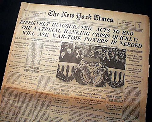 Image result for fdr inauguration 1933