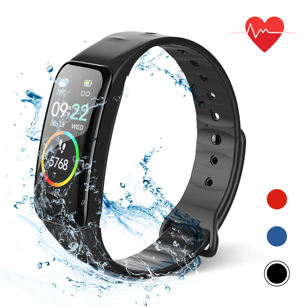 Lixada Smart Bracelet Fitness Tracker Watch