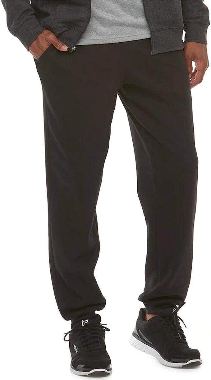 TEK GEAR Men/'s Big /& Tall Warm Tek Performance Fleece Jogger Pants NWT