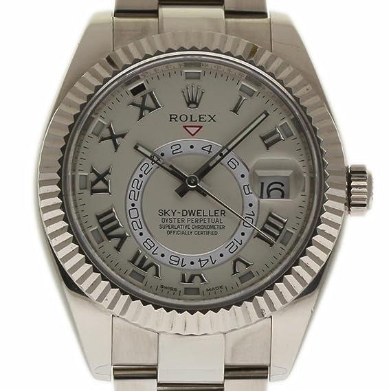 Rolex sky-dweller swiss-automatic Mens Reloj 326939 (Certificado) de segunda mano