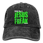 FUNINDIY Tobymac Label Me A Jesus Freak Logo Cool Adjustable Baseball Cap Mom Dad Hat
