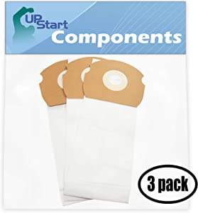 Upstart Battery 9 Replacement for Eureka Airspeed ASM1065 Vacuum Bags - Compatible with Eureka 68155, AS Vacuum Bags (3-Pack - 3 Vacuum Bags per Pack)