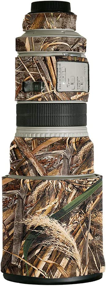 Digital Camo LensCoat Lens Cover for Canon 300IS f//2.8 camouflage neoprene camera lens protection sleeve