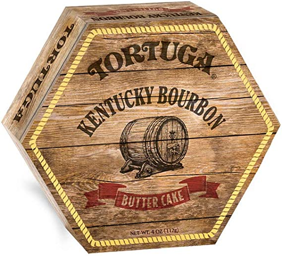 TORTUGA Kentucky Bourbon Rum Cake - 4 Oz. Cake - The Perfect Premium Gourmet Gift for Gift Baskets