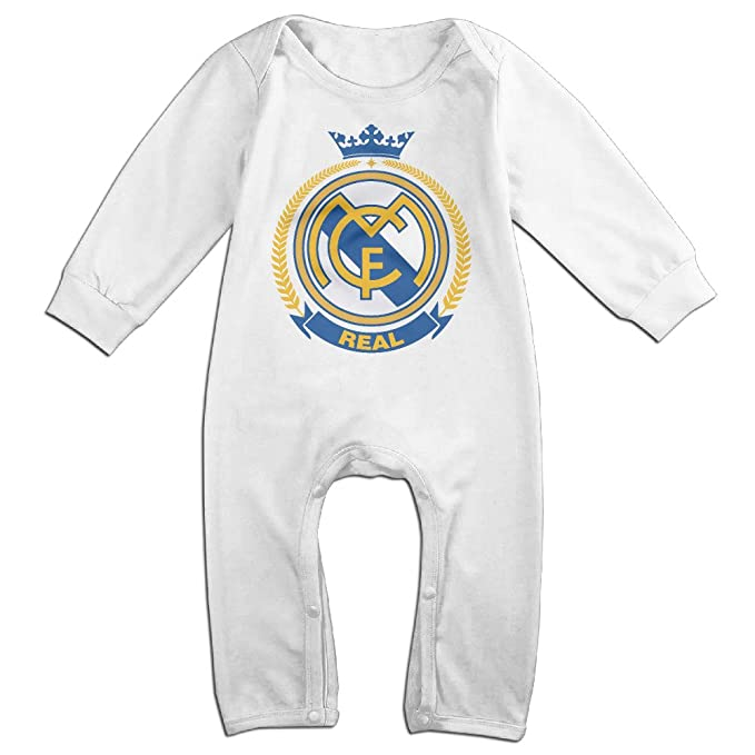 Amazon.com: Real Madrid bebé Onesie Bodysuit recién nacido ...