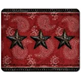 Primitive Barn Star Tempered Glass Small Cutting Board