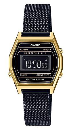 Casio Femmes Digital Quartz Montre avec Bracelet en Acier Inoxydable Massif  LA690WE 2b72dc791594
