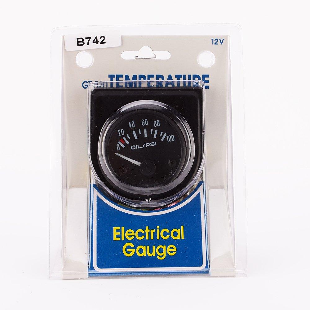 IZTOSS Motorcycle Odometer MPH KPH Speedometer Gauge blue LED Backlight Signal Light