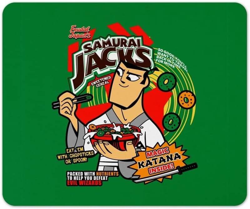 Samurai Jacks Mouse Pad Pop Culture Nerdy Geeky Computer Mat