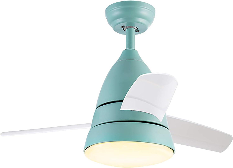 Luz de ventilador de techo para niños, lámpara de ventilador de PVC de 3 hojas, ventilador silencioso y silencioso, lámpara de ventilador adecuada para niños, no solo puede iluminar, sino que tamb