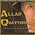 Allan Quatermain Hörbuch von H. Rider Haggard Gesprochen von: B. J. Harrison