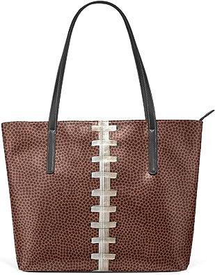 DEZIRO - Bolsos de hombro con textura de fútbol para uso ...