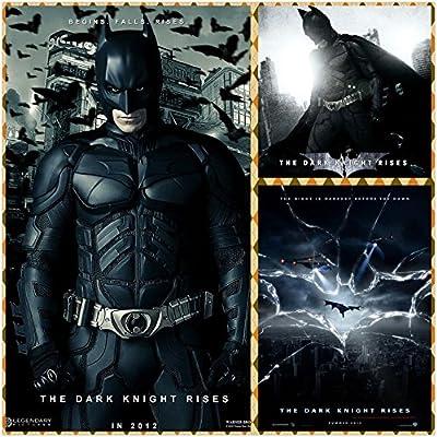 The Dark Knight Rises Batman (24x24 inch, 60x60 cm) Silk ...