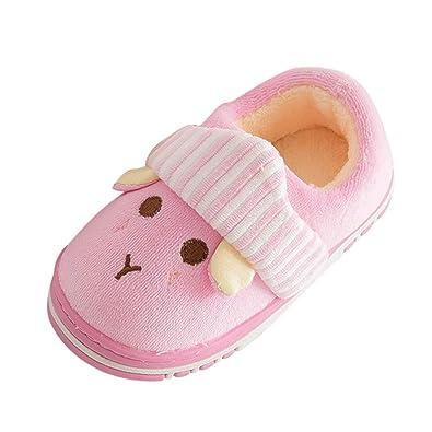 more photos exclusive shoes sale retailer Chaussons Enfant Fille Garçon Peluche Pantoufle Fille Hiver ...