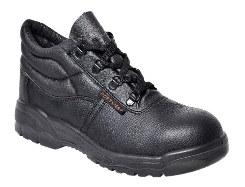 Portwest Steelite Protector Boot Black 13 R & Bandana Bundle