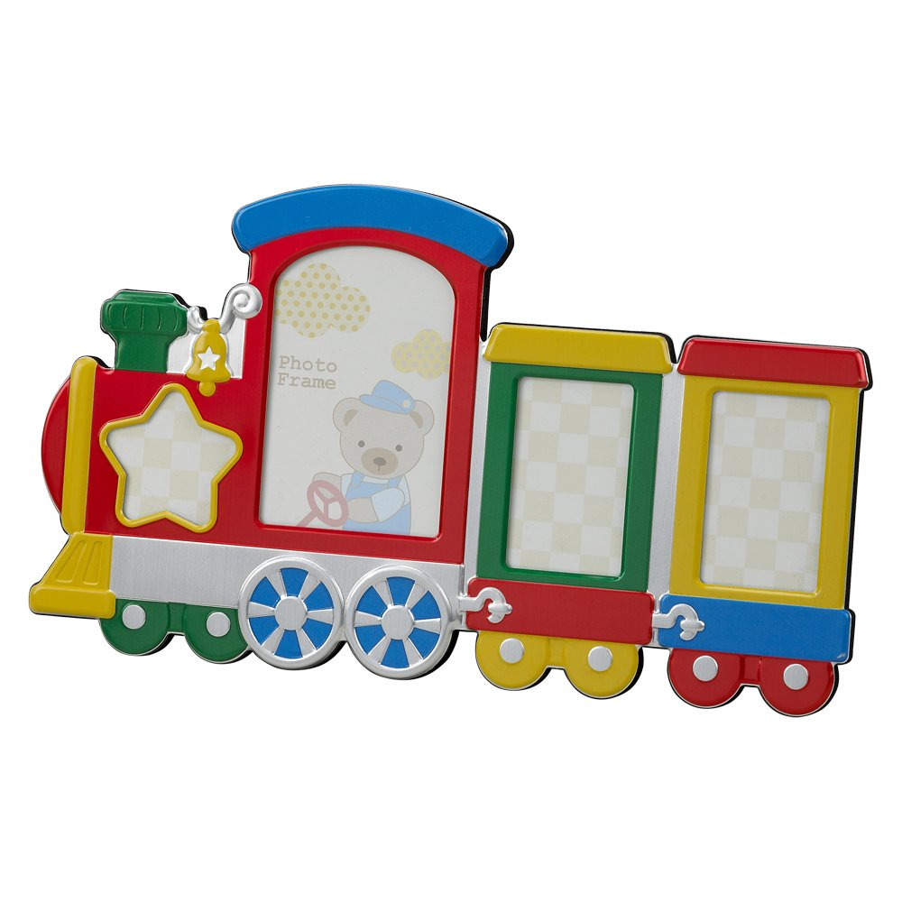 Creative Gifts Multi Color Train Photo Frame Holds 4 CG-024454