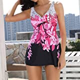 DEATU Deals Women Two-Piece Suit Tankini Sets