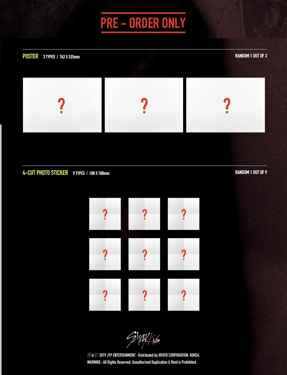 K-POP Stray Kids - 4th Mini Album [Clé 1 : MIROH] (Limited Edition) Music CD + Clear Postcard & Photocard + QR Photocards + Photobook + Pre-Order Benefit + Folded Poster + Extra Photocards Set by JYP
