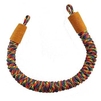 Probado y probada resistente trenzado cuerda correa de muñeca ...