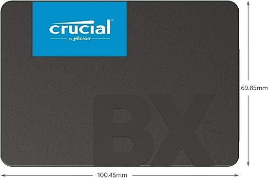 Crucial BX500 1 TB CT1000BX500SSD1(Z) Unidad interna de estado sólido, hasta 540 MB/s (3D NAND, SATA, 2.5 Pulgadas): Amazon.es: Informática