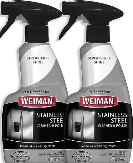 Weiman acero inoxidable limpiador y abrillantador: Amazon.es ...