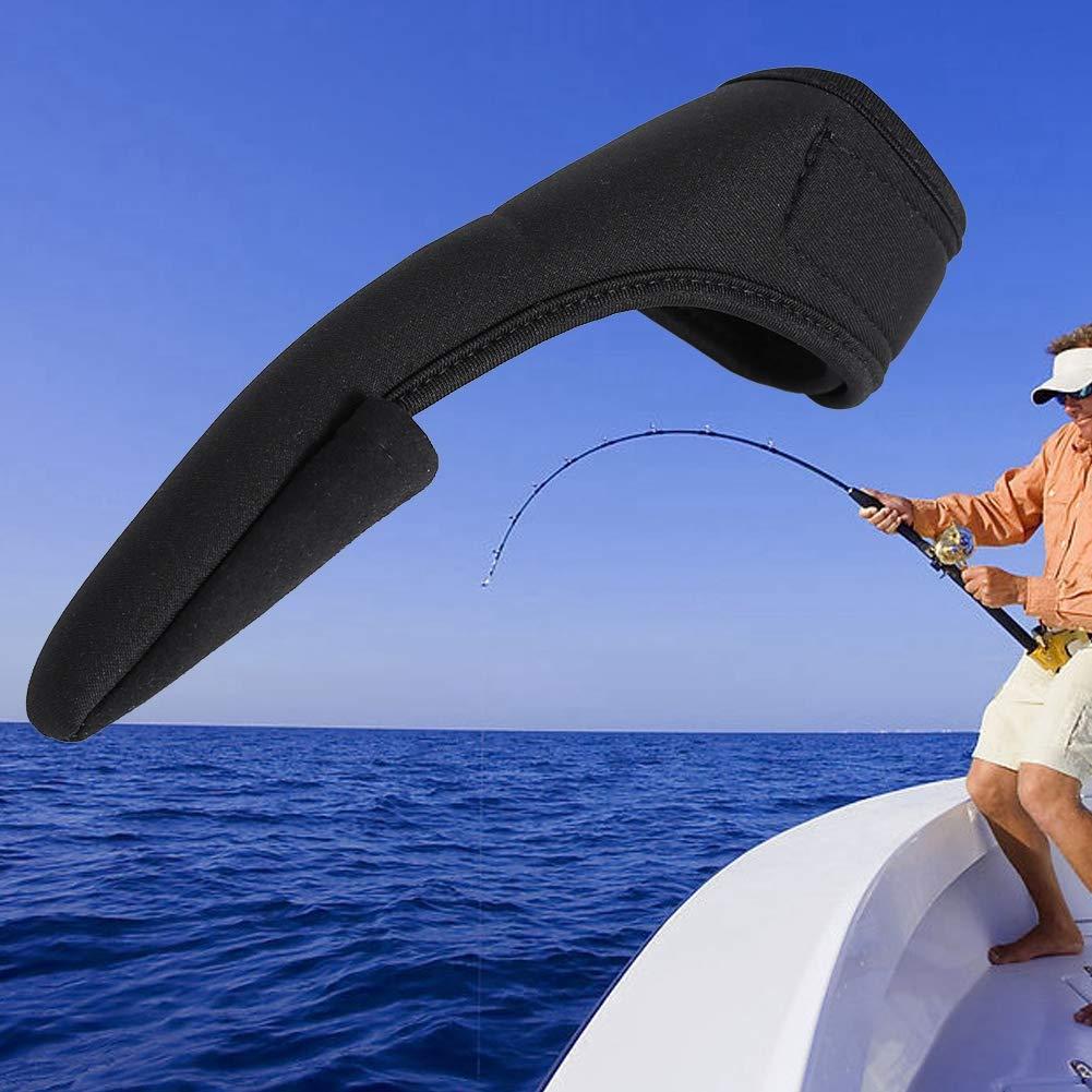 Fafeims Guante de Pesca Unisex Guante de Banda el/ástica Protector de Dedo /índice /único para Pesca al Aire Libre