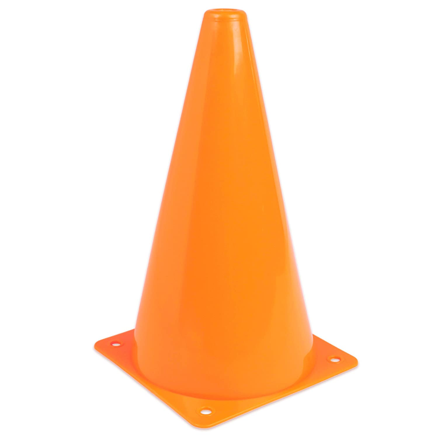 AGORA 9 Practice Cones - Bright Neon Orange - Set of 10