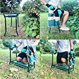 Besthls Garden Kneeler and Seat Stool Heavy Duty