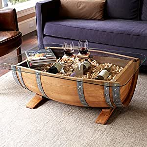 Recycled Barrel Coffee Table #17450