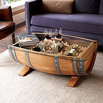 Genial Recycled Barrel Coffee Table #17450