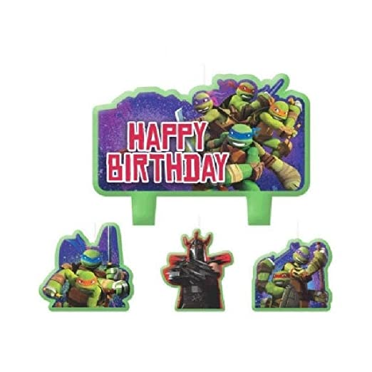 Bargain World Teenage Mutant Ninja Turtles - Juego de Velas ...