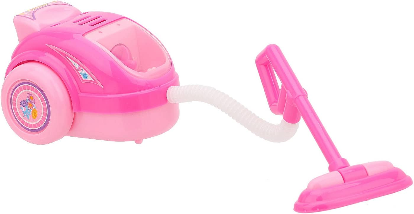 Pinzhi Lovely Rosa Mini Aspiradora Pretend parte Home Appliance ...