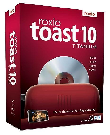 roxio toast  : Toast 10 Titanium [OLD VERSION]: Software
