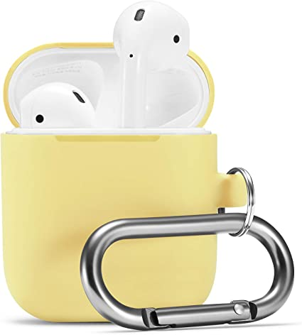 Amazon Com Airpods Case Airpod Silicone Skin Cases Cover By