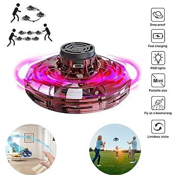 WXX Flying Spinner Toys Drones para, Flying Ball Controlado A Mano ...