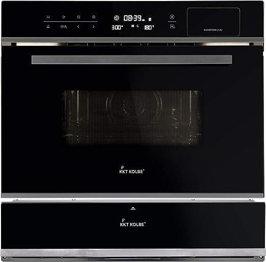 Microondas con horno y grill eléctrico de vapor EBMS4503S + cajón ...