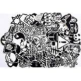120 pegatinas de vinilo diseño tipo graffiti Mejor vinilo de las etiquetas engomadas Pack Todos los estilos diferentes para Coche Macbook Laptop Tabla Snowboard iPhone Maleta de la bici pegatina