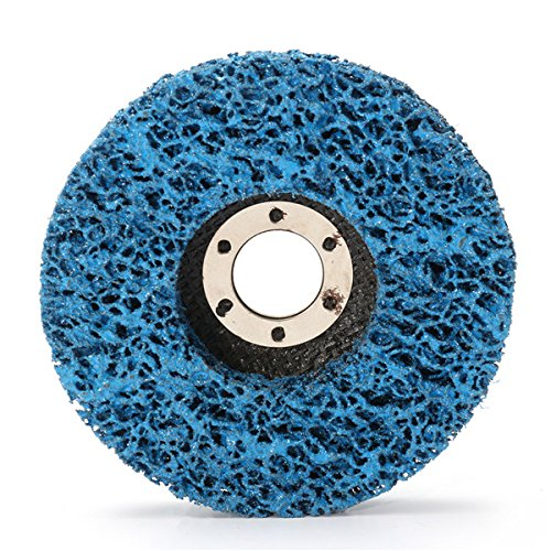 CynKen 5pcs 110mm Polycarbide Abrasive Stripping Disc Wheel Rust And Paint Removal Abrasive Disc by CynKen (Image #7)