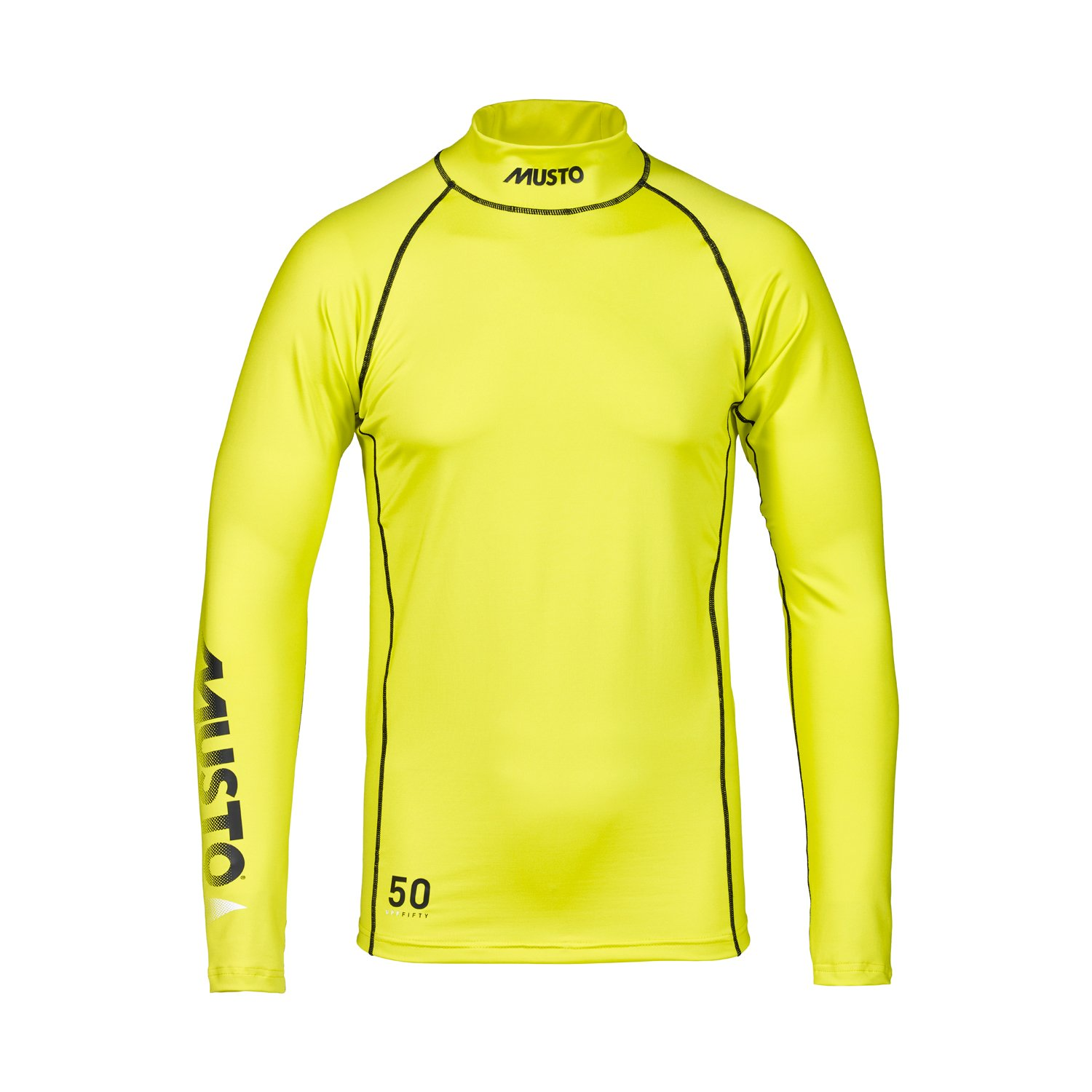 Musto Sunblock Long Sleeve Rash Guard 2017 - Sulphur Spring