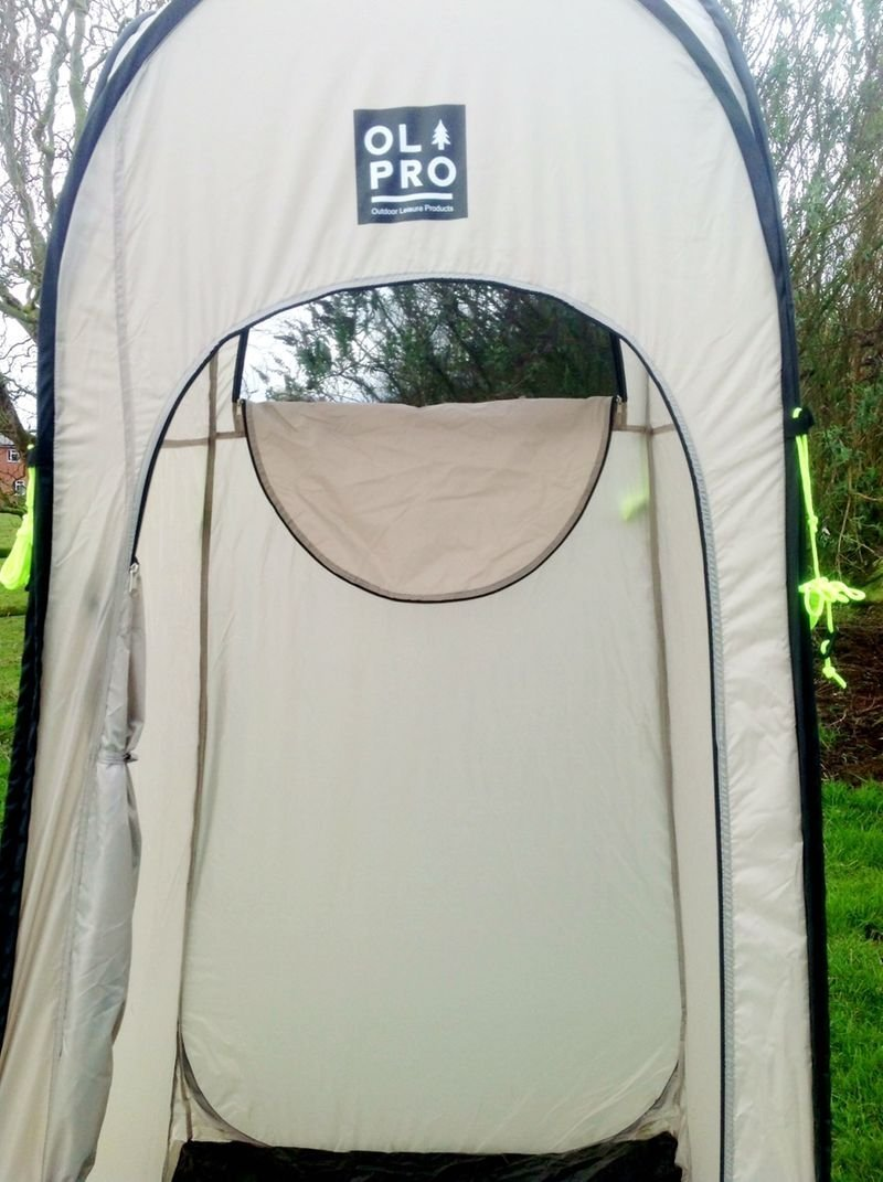 Amazon.com  Olpro WC Pop-Up Toilet and Utility Tent - Tan by OLPro  Garden u0026 Outdoor & Amazon.com : Olpro WC Pop-Up Toilet and Utility Tent - Tan by ...