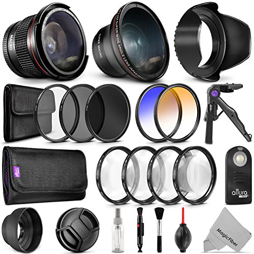 58mm Altura Photo Professional Accessory Kit for Canon EO...