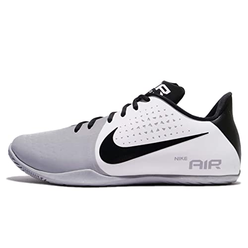 307e0b11872 Nike Men s Air Behold Low Basketball Shoe White Black Wolf Grey Size 12 M  US  Buy Online at Low Prices in India - Amazon.in